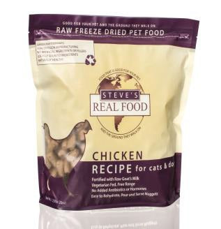 美國 Steve's Real Food Freeze Dried Nuggets 1.25lb (20oz) Chicken Diet ( for dogs & cats } - Ingredients