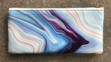 Blue Agate Pencil Pouch