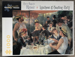 Luncheon of the Boating Party Puzzle