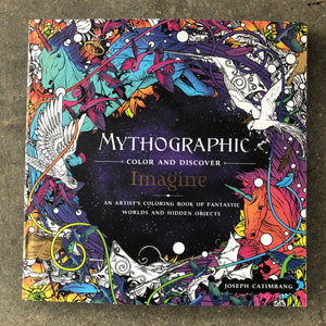 Mythographic:  Imagine Coloring Book