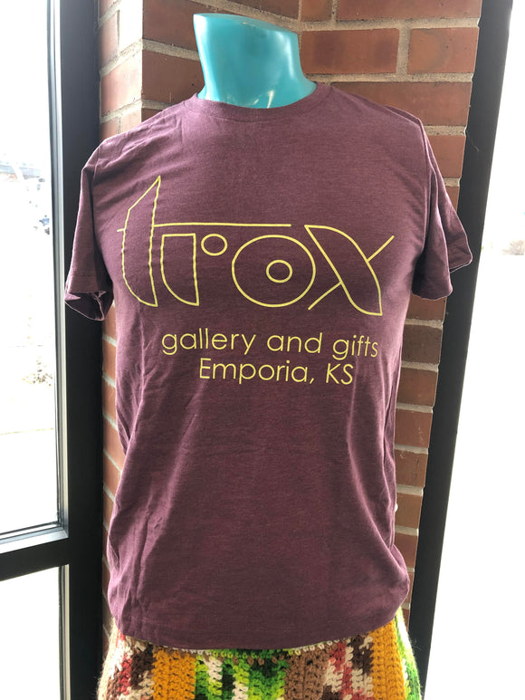 Purple Trox Gallery and Gifts T-shirt