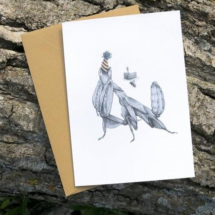 Mantis Birthday Card