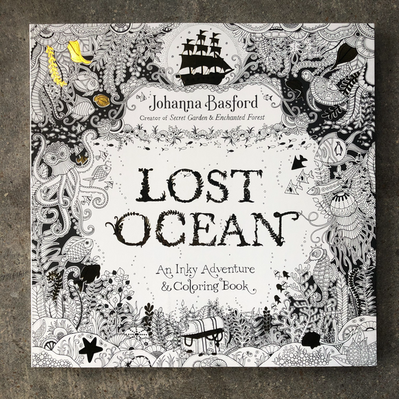 Lost Ocean Coloring Book