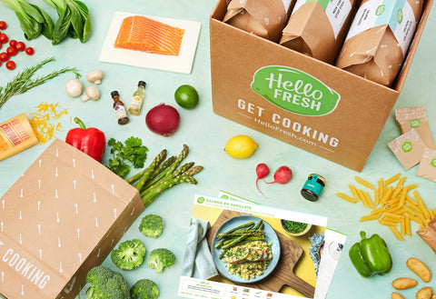 Meal Kit Subscription Hello Fresh