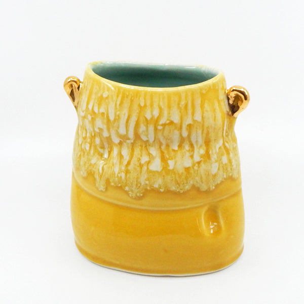 Soft Vase in Yellow - 25