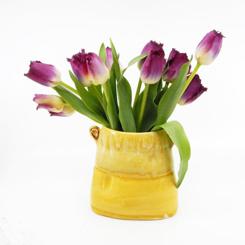 Soft Vase in Yellow - 29