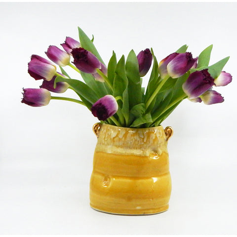 Soft Vase in Yellow - 27