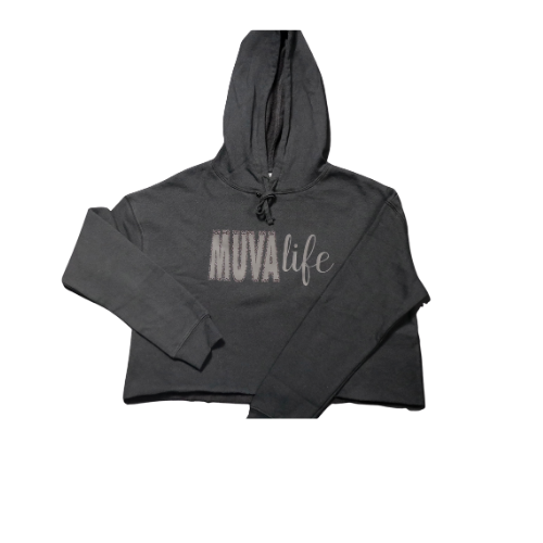 Muva Life Cropped Hoodie