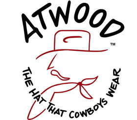 Logo of Atwood Hat Company, The hat that cowboys wear