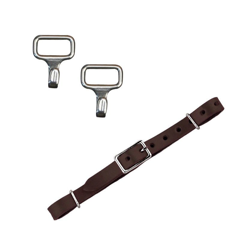 *Myler Leather Curb Strap Kit