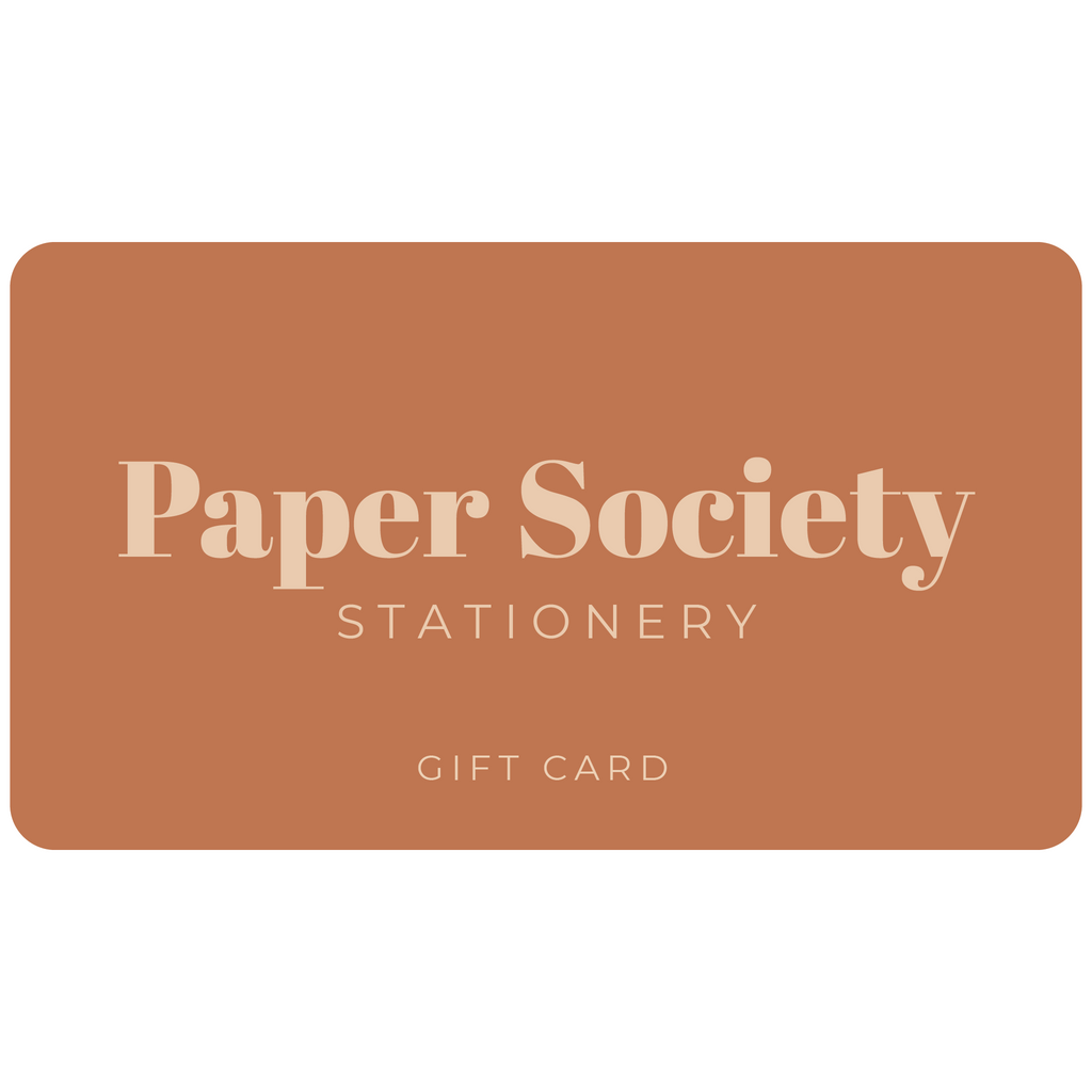 Gift Card - Paper Society Stationery