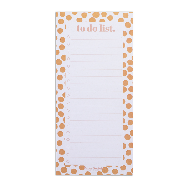 TO DO LIST, DOTTY - Paper Society Stationery