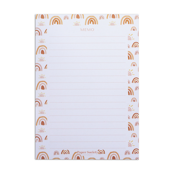 A5 NOTEPAD, SHINE - Paper Society Stationery