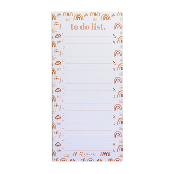 TO DO LIST, SHINE - Paper Society Stationery