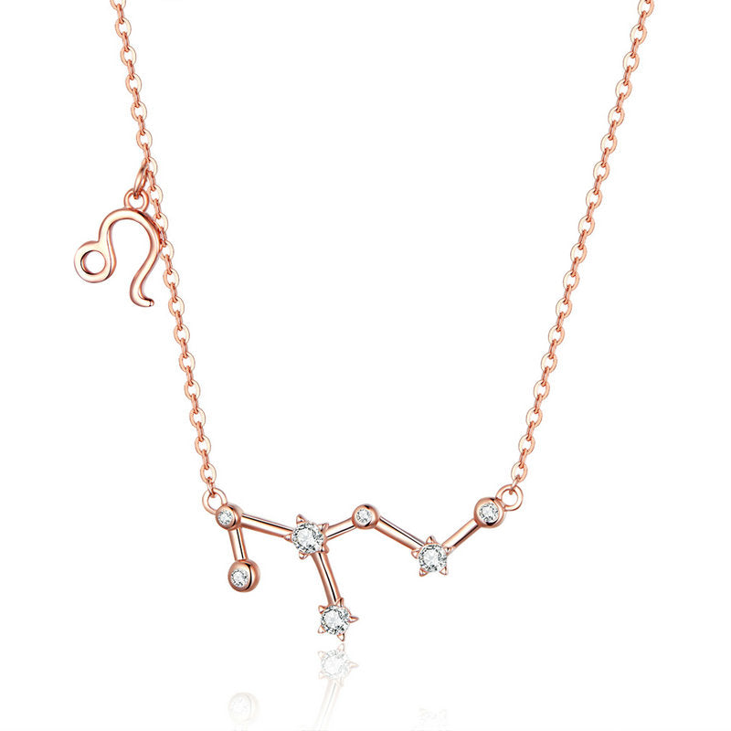 Collier Lion  Constellation Stellaire