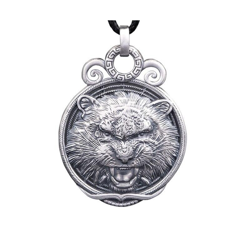 Collier Tigre <br> Hurlement Furieux (Argent)