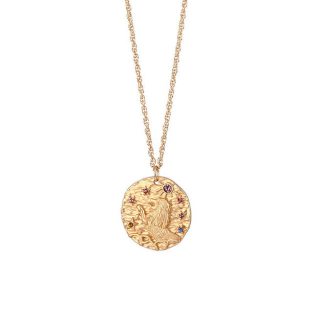 Collier Lion Astrologique Piece