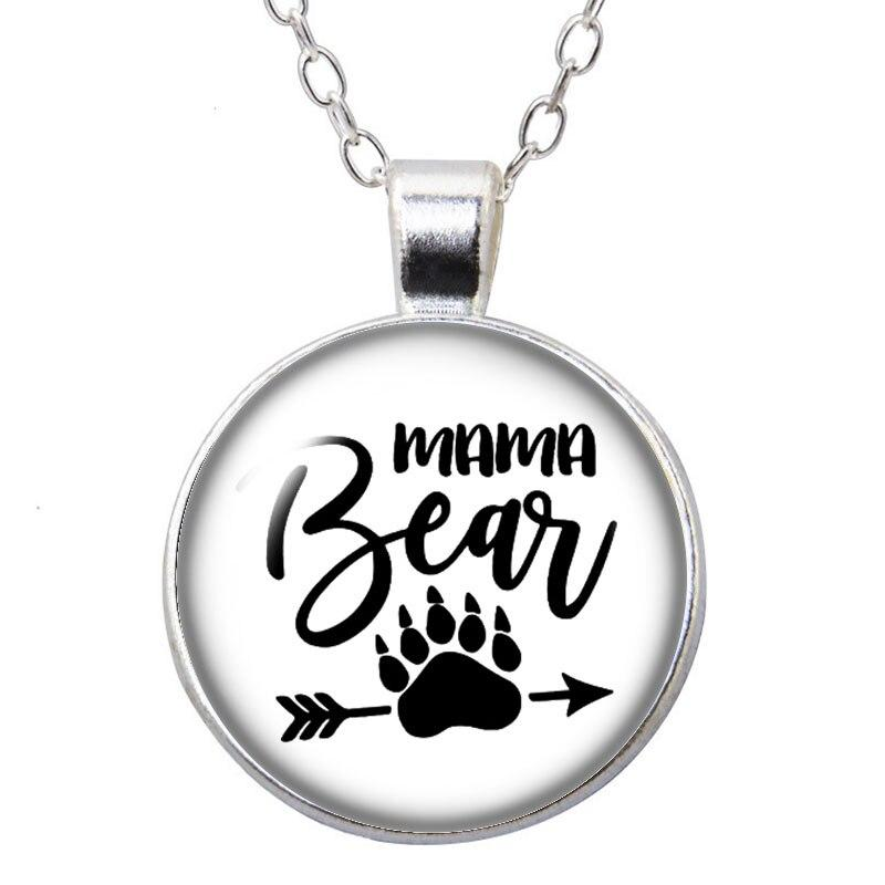 Collier Ours  Brave Maman