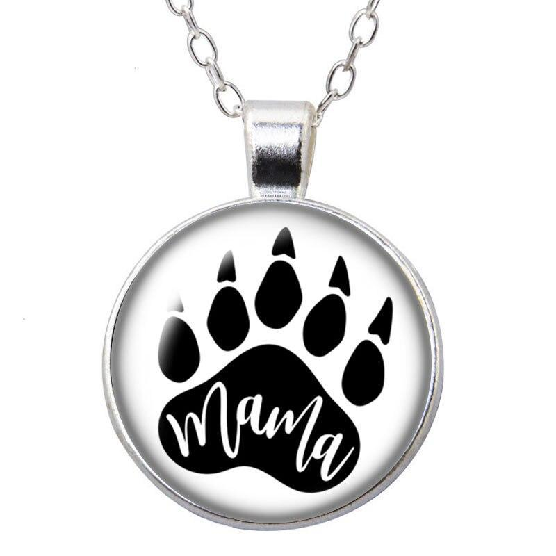 Collier Ours  Mama