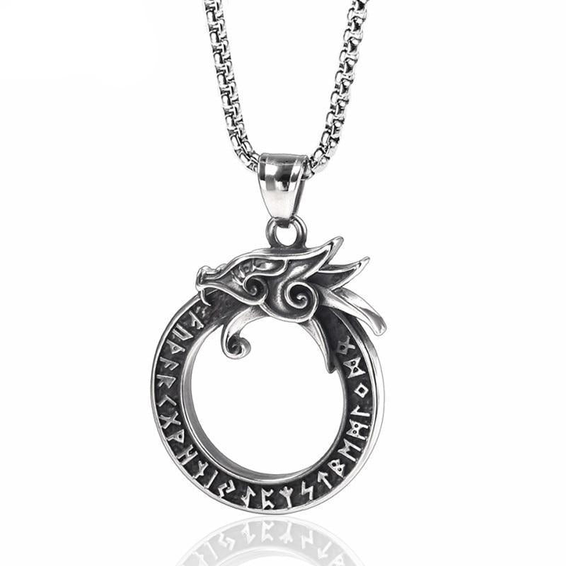 Collier Serpent  Instinct Viking (Acier)