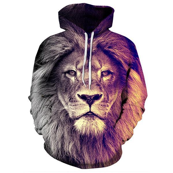Sweat Lion  Respect Animal
