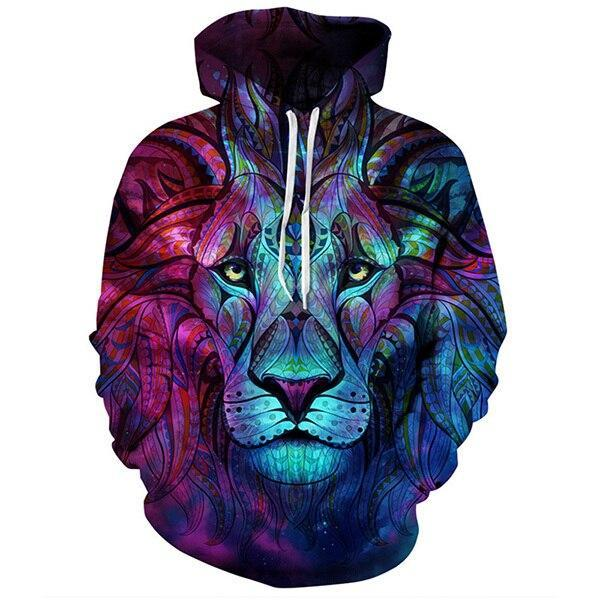 Sweat Lion  Rêve Indien