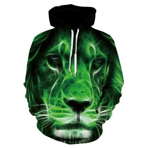 Sweat Lion  Vert Intense