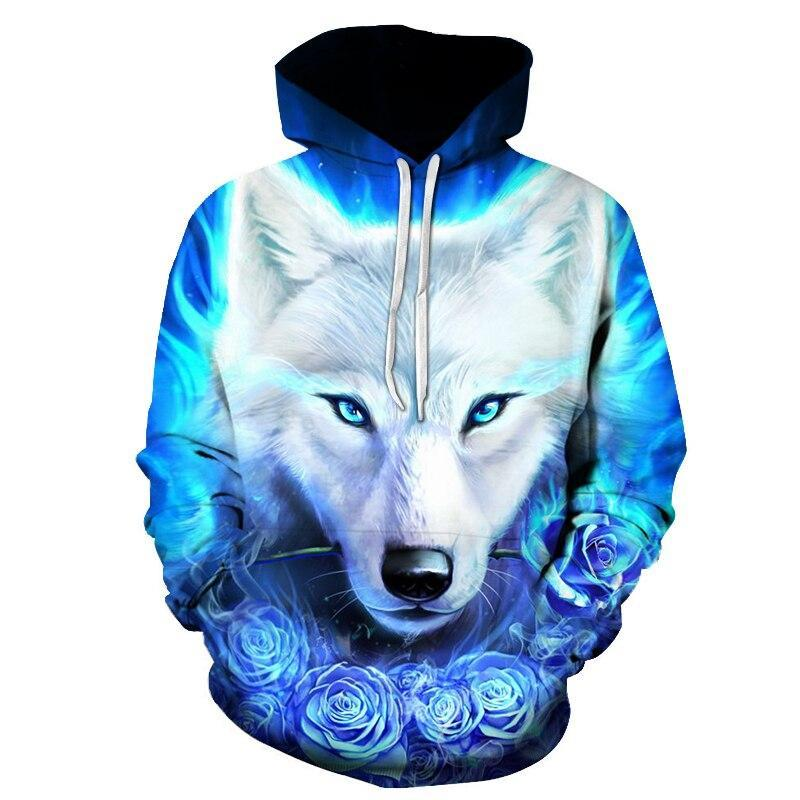 Sweat Loup  Roses Bleu