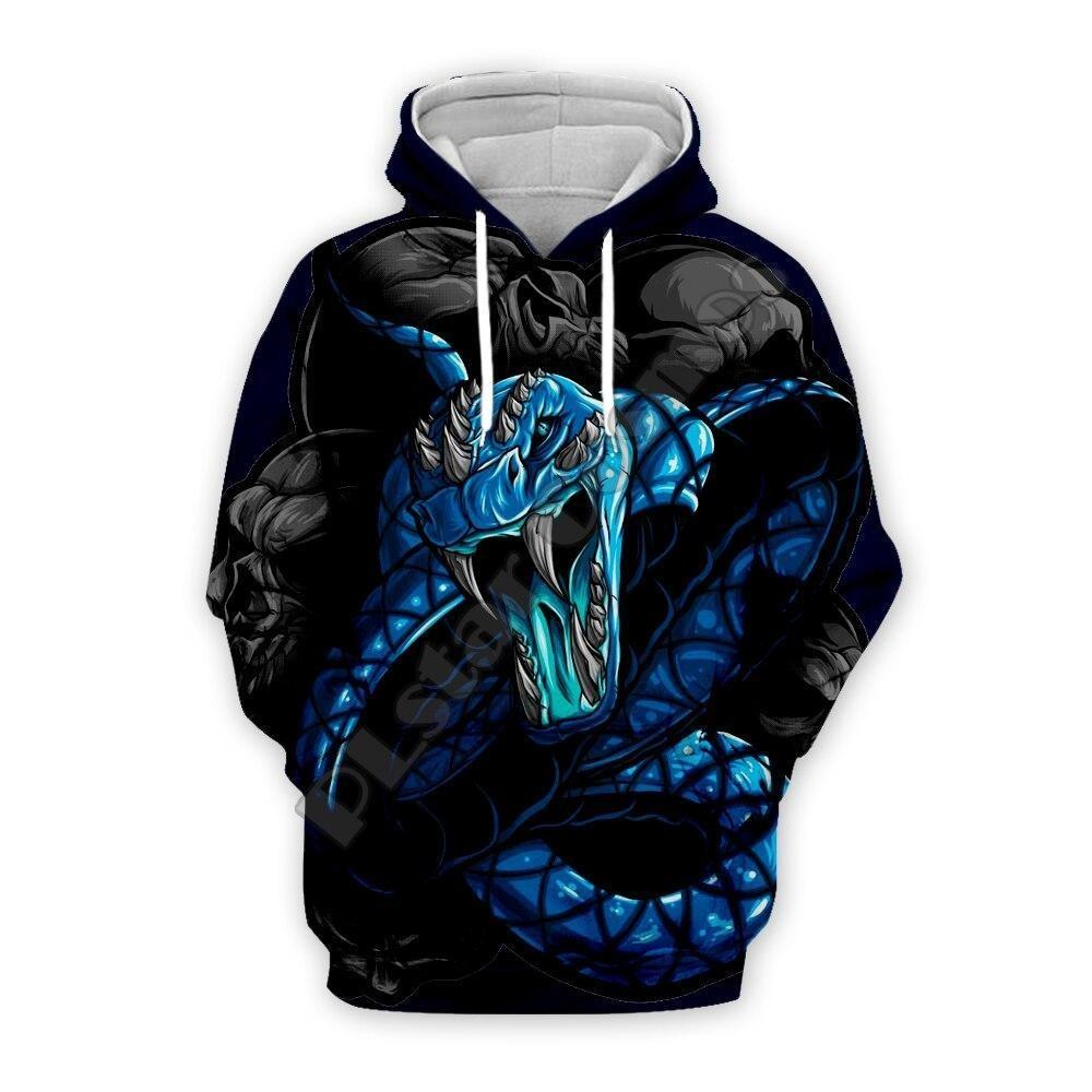 Sweat Serpent  Python Bleu