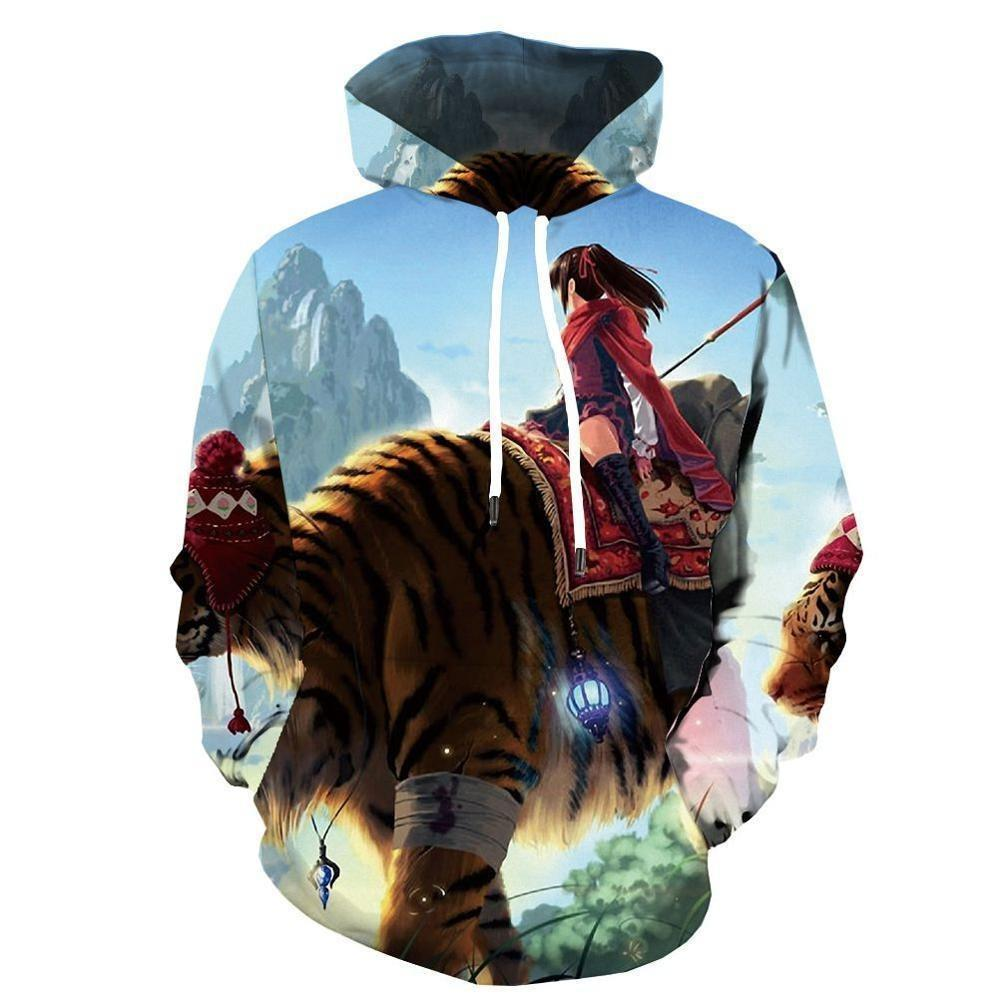 Sweat Tigre  Monture