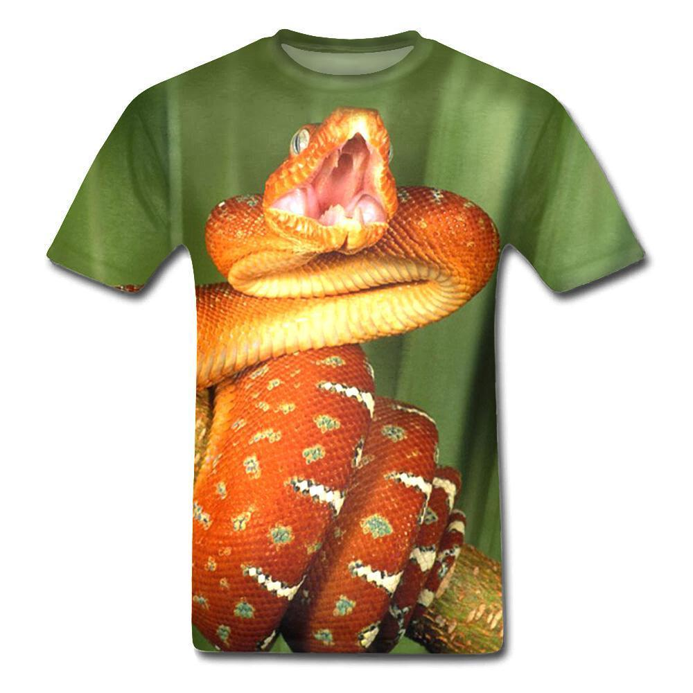 T-Shirt Serpent  Animal à Sang Froid