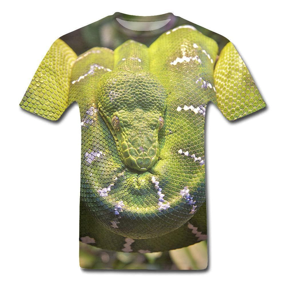 T-Shirt Serpent  Chasseur D'animaux 3D
