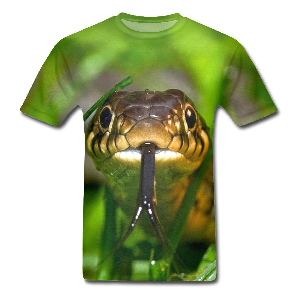 T-Shirt Serpent  Langue bifide