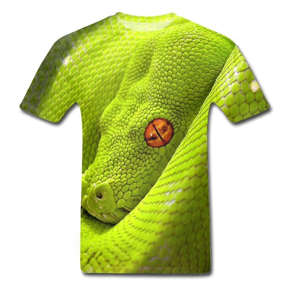 T-Shirt Serpent  Reptile Impression 3D