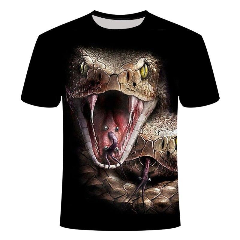 T-Shirt Serpent  T-Shirt Animaux Sauvage