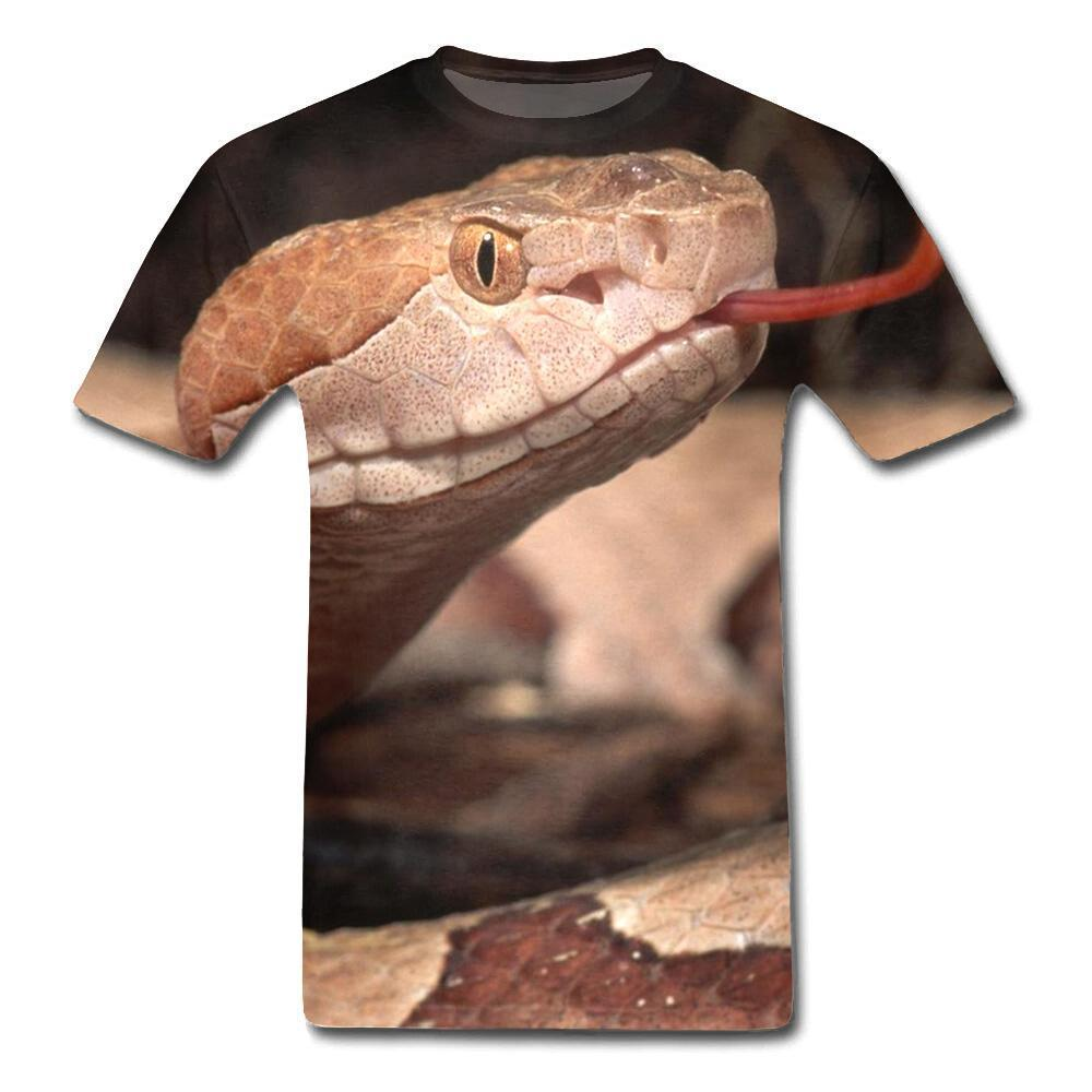 T-Shirt Serpent  Vipère 3D