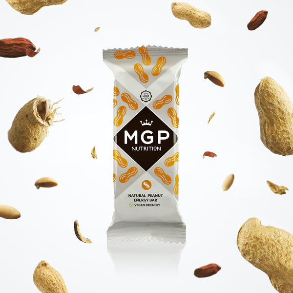 Shop Max Golf Protein Natural Peanut Bars Healthy Vegan