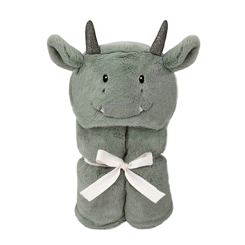 'Dax' Dragon Plush Hooded Blanket
