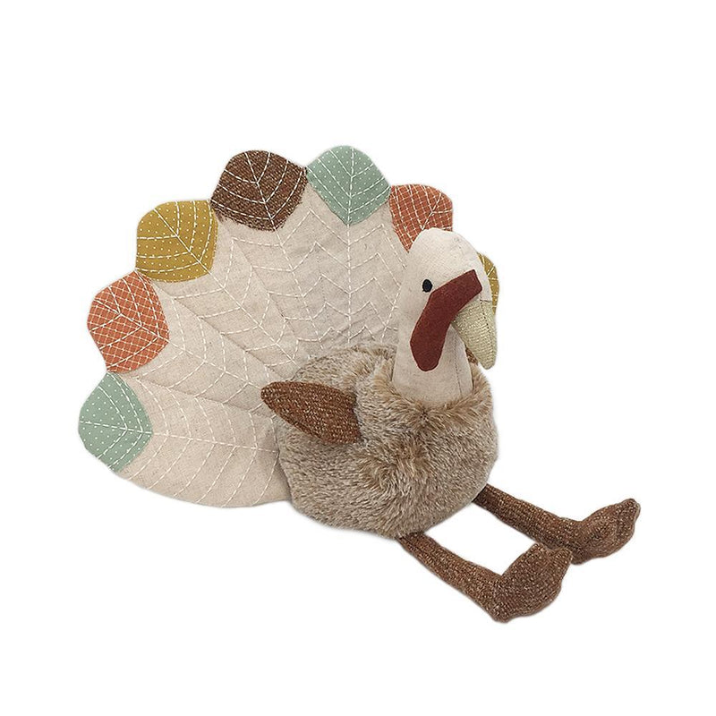 Mon Ami Thankful Turkey Weighted Shelf Sitter, 17 in
