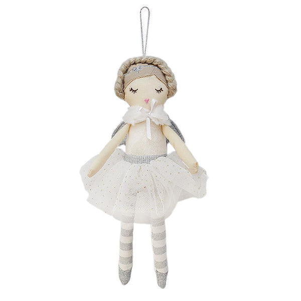 Snow Angel Plush Doll Ornament