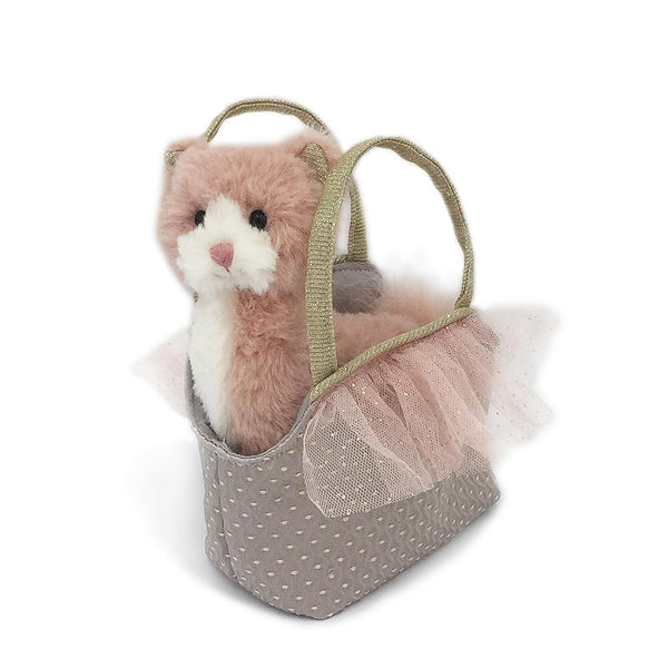 'Callie' Kitty Plush Doll & Toy Purse