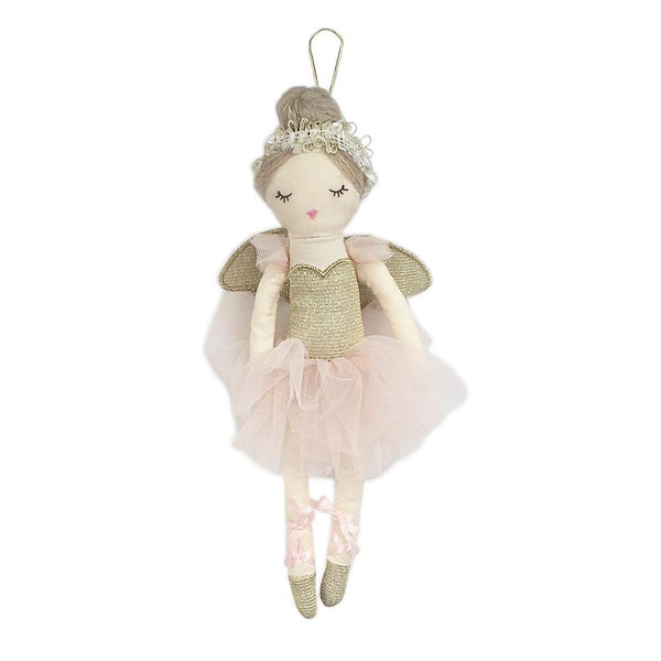 Sugar Plum Fairy Plush Doll Ornament