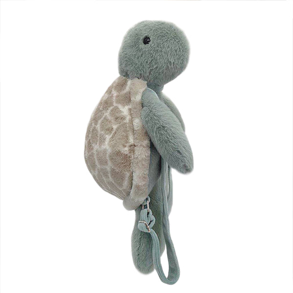 'Taylor' Turtle Plush Backpack