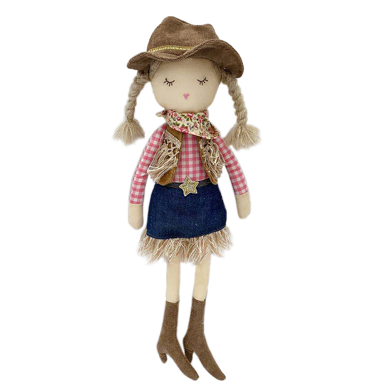Cowgirl Clementine Doll