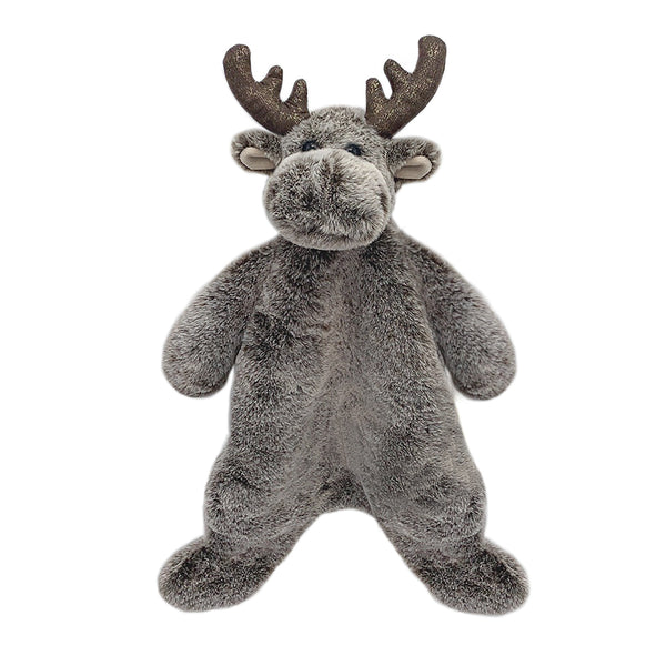 'MARLEY' MOOSE PLUSH BABY SECURITY BLANKET