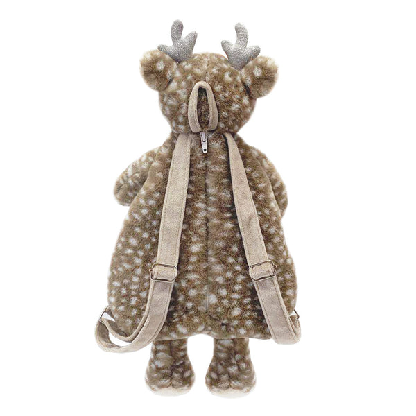 'Fiona' Fawn Plush Backpack