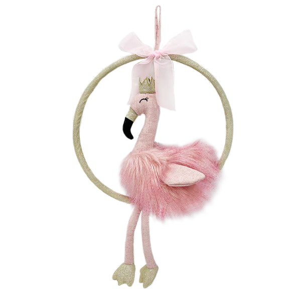 Felicity Flamingo Baby Crib Mobile