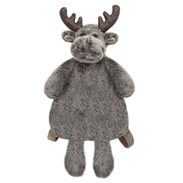 'MARLEY' MOOSE PLUSH BACKPACK