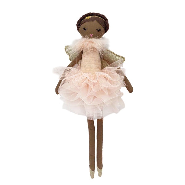'ADA' PINK ANGEL AFRICAN AMERICAN DOLL