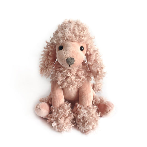 'PARIS' MAUVE POODLE PLUSH TOY